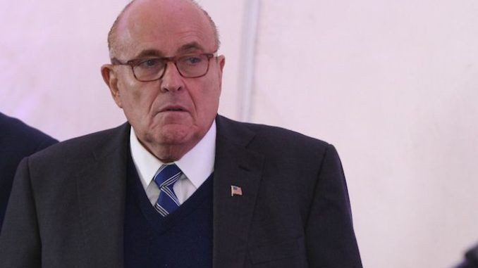 Rudy Giuliani warns the Deep State are going to try to kill him