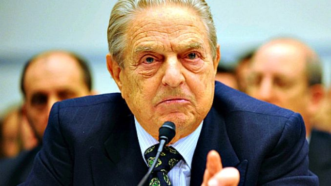"Billionaire George Soros has warned President Trump he is ""digging his own grave"" as impeachment proceedings continue in US Congress."
