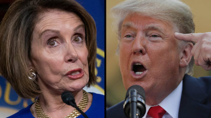 President Trump claims Nancy Pelosi has lost her mind over impeachment