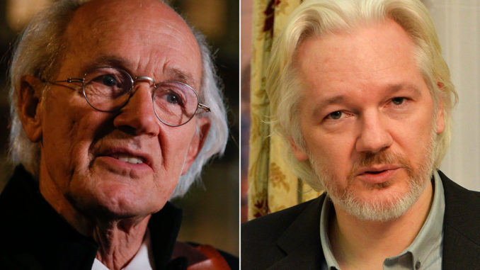 Assange's Father Fears His Son 'May Die In Jail For Revealing War Crimes' Assange-father-678x381