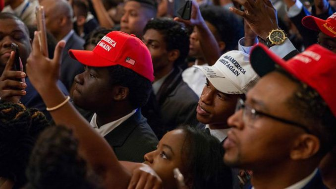 African American support of President Trump hits historic 34 percent