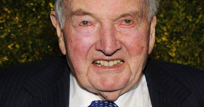 David Rockefeller, a third generation member of the Rockefeller dynasty, died in 2017 after a life spent pushing for a New World Order and a one world government, which would allow the elite and world bankers to control the global population.