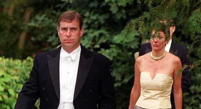 Epstein's child fixer Ghislaine Maxwell met with Prince Andrew at Buckingham Palace just weeks after police launched an investigation into the pedophile