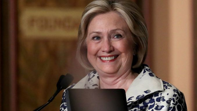 Hillary Clinton expresses her happiness over impeachment hearings