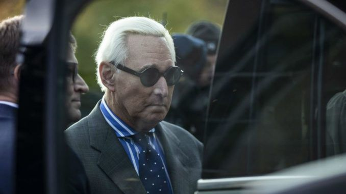 Roger Stone says he fears he will killed like Epstein was in jail