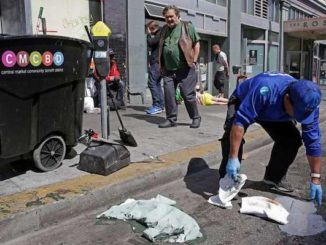 Nancy Pelosi's San Fransisco had 25,000 cases of human and animal poop reported in the last few months