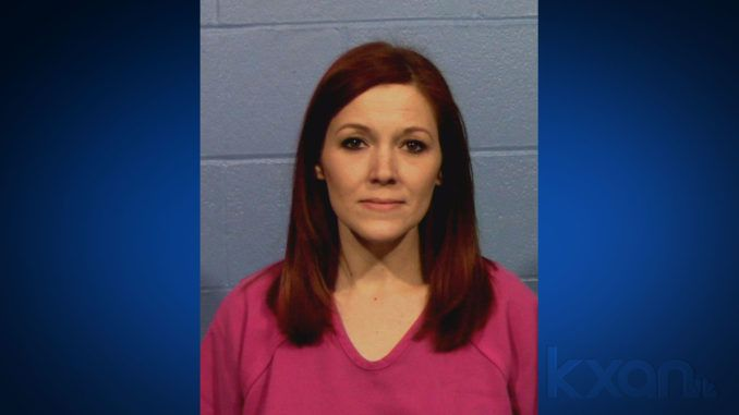 A 36-year-old woman who was named Teacher of the Year at her Texas high school has been arrested for allegedly performing oral sex on a student in a classroom and sending him erotic texts.