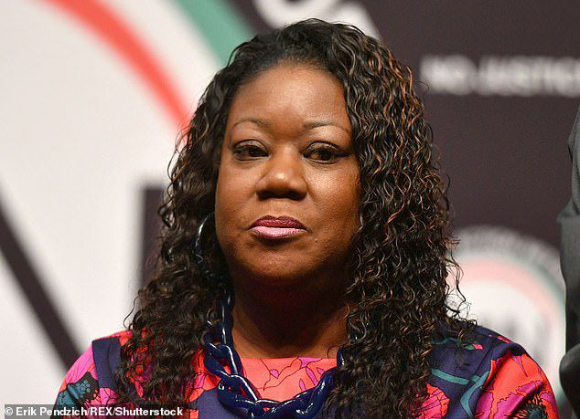 The lead defendant in the suit is Martin's mother, Sybrina Fulton (pictured). Fulton gained national notoriety as an advocate for social justice and reducing gun violence in the wake of her son's death