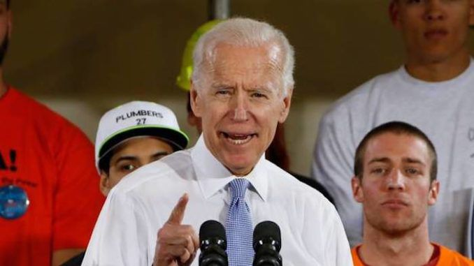 "Migration is the ""future of America"" and ""you should get used to it"" and ""invest in them"", according to Democrat presidential candidate Joe Biden."