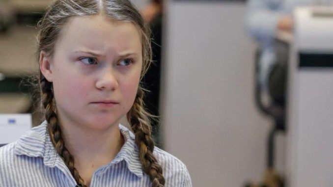 Greta Thunberg declares climate crisis racist systems of oppression that's literally killing us