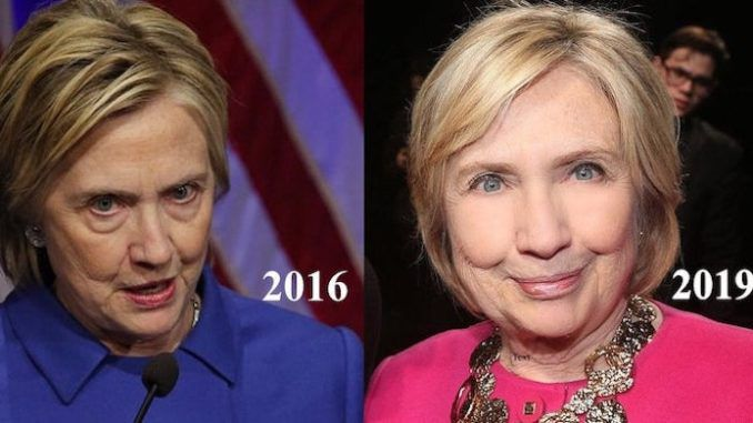 According to a leading aesthetic doctor, Hillary Clinton appears to have had some extensive work done on her face, as the 72-year-old appeared wrinkle-free and without her trademark heavy eye bags.