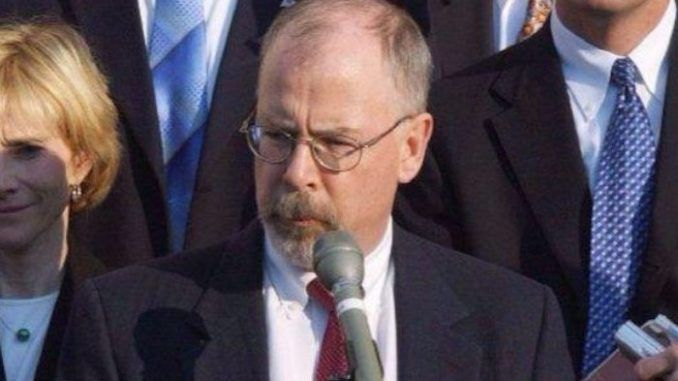 US attorney John Durham released statement disputing IG report conclusions