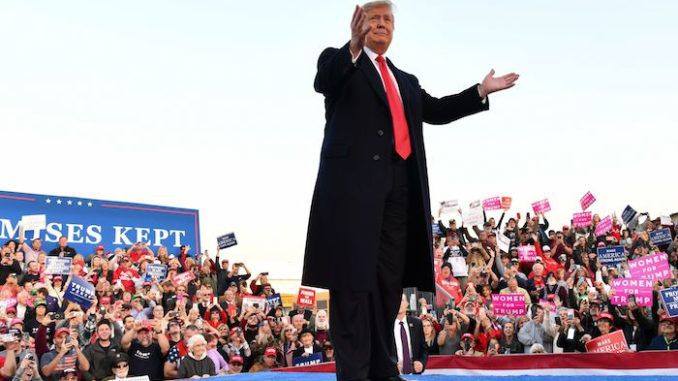 President Trump's approval rating in six points higher than before Nancy Pelosi announced the impeachment inquiry, according to Gallup.