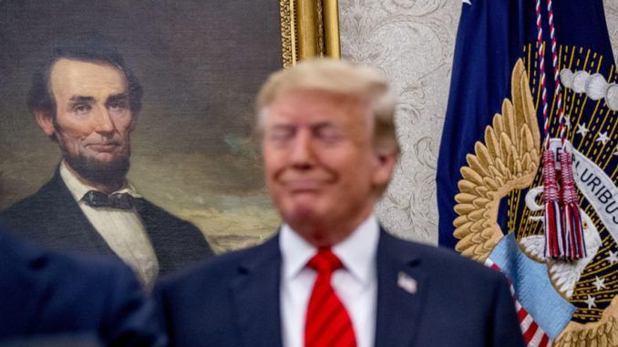 President Trump more popular among Republicans than Abraham Lincoln, poll shows