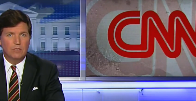 An investigation by Tucker Carlson Tonight has revealed that CNN is paying more than fifty major airports across the United States to play their dubious content to unsuspecting travelers at airline gates.