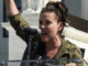 Alyssa Milano says she is premenopausal and angry at L.A. Trump impeachment protest