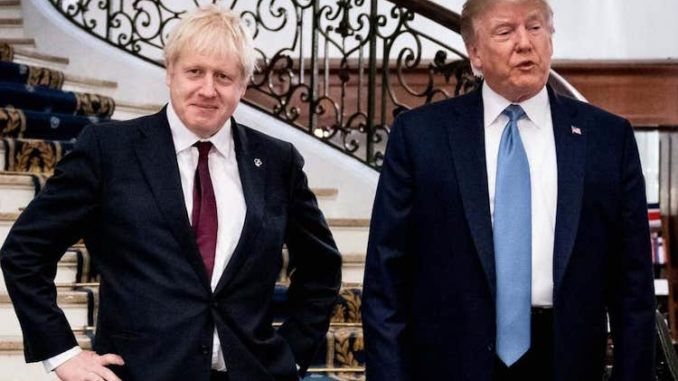 President Trump declares Boris Johnson's UK election win is a harbinger for 2020
