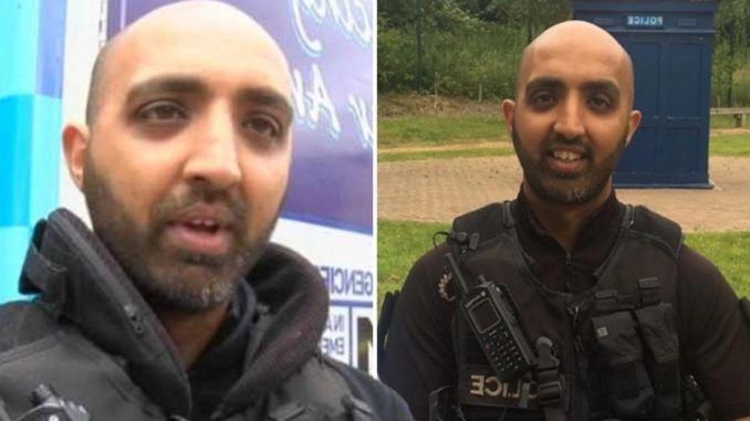 "A Muslim police officer in the UK who was hired to promote ""diversity"" has been charged with a sickening array of sex crimes against minors."