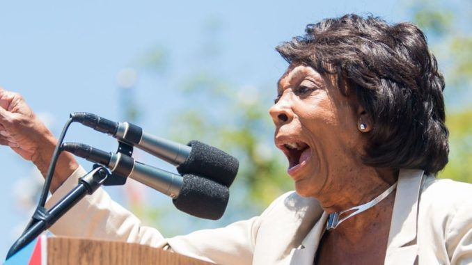Rep. Maxine Waters spreads conspiracy theory about Putin and Trump having secret sanctions deal