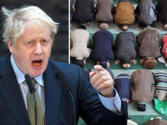 """Muslims have """"begun to leave the UK after Boris Johnson won the election"""" according to the headlines of a major London newspaper."""