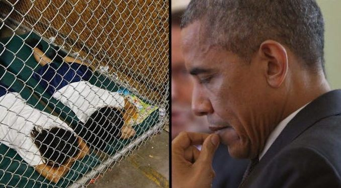 "A UN study shows the ""U.S. has world's highest rate of children in detention"" in 2015 during the Obama administration."