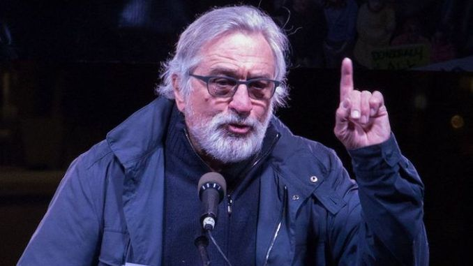 Robert De Niro says he would disown his children if they were like Trump's