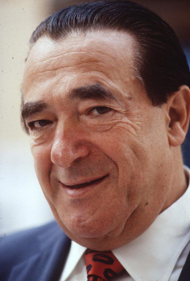 Robert Maxwell: Ghislaine Maxwell's father Robert allegedly introduced her and Epstein to Mossad