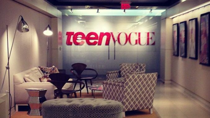 In case you missed it while you were spending time with your family and celebrating Jesus on Christmas Day, that great left-wing propaganda machine known as Teen Vogue was teaching children how to have anal sex.
