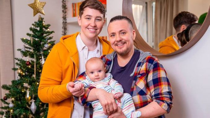 Transgender man gives birth to baby via trans female sperm donor