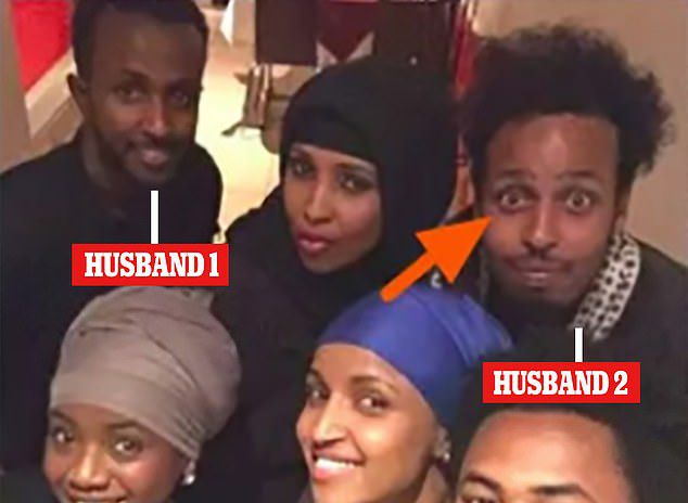 Ilhan Omar's conjugal arrangements were brought back into the spotlight last year as President Donald Trump said: 'I hear that she was married to her brother'