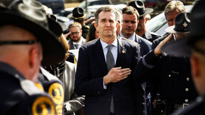 """A petition to recall Virginia Gov. Ralph Northam for his tyrannical attempt at """"infringing on U.S. Constitution 2nd amendment rights"""" as well as the Virginia Constitution has achieved its target in record time."""
