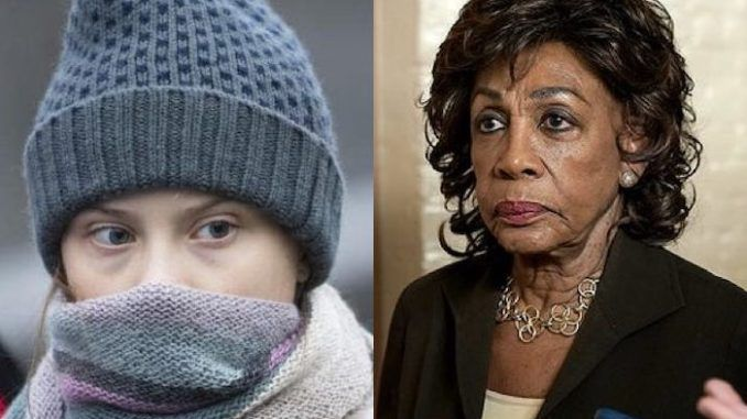 Rep Maxine Waters fooled by Russian pranksters during telephone call who pose as Greta Thunberg and tell her they have taped Trump confession