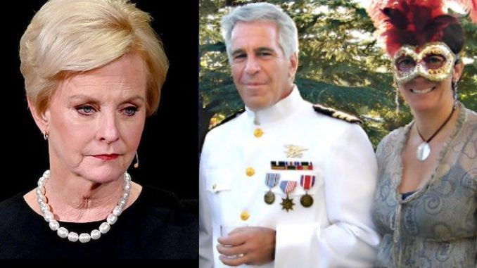 "Cindy McCain, the widow of late Sen. John McCain, said in a recent conference in Florida that ""we all knew"" what notorious pedophile Jeffrey Epstein was doing."