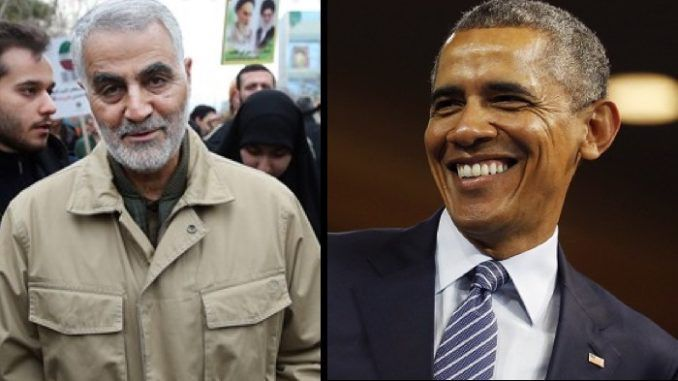 Barack Obama granted amnesty to Iranian terror General Qassem Suleimani as part of his Iran deal
