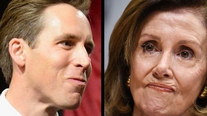 Senate republicans to give Nancy Pelosi Jan 12. deadline to hand over impeachment docs or face dismissal