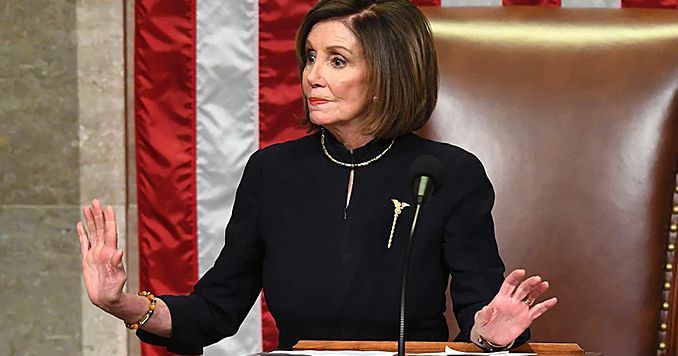 Nancy Pelosi suffers HUGE meltdown as impeachment backfires, calls for President Trump's lawyers to be disbarred