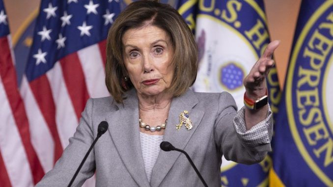 Nancy Pelosi scolded President Trump's highly effective legal team on Thursday, asking why they are allowed to retain their lawyer status.