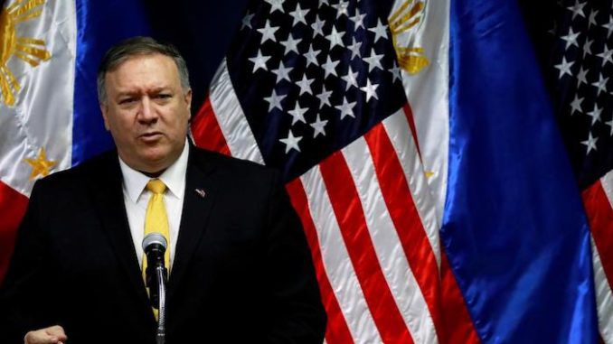 "Barack Obama and his lawless administration were soft on Iran and created a ""mess"" and President Trump is cleaning it up, according to Secretary of State Mike Pompeo."