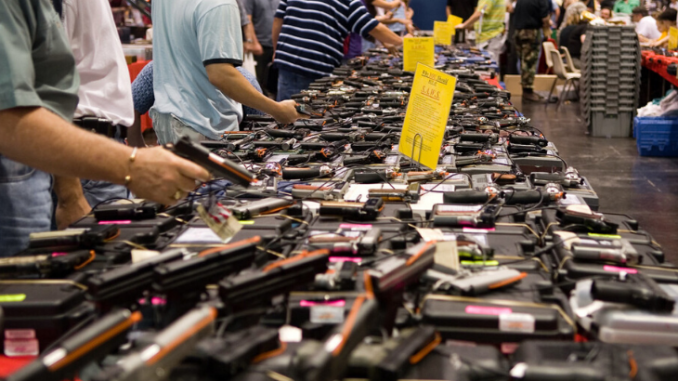 Virginia recorded the second-largest firearm sales in history last month as citizens respond to fears the government will curtail gun rights.