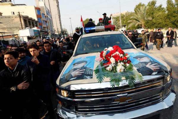 Qassim Soleimani's corpse was transported back to Tehran in a Chevy, an iconic American automobile revered around the world, even in Iran.