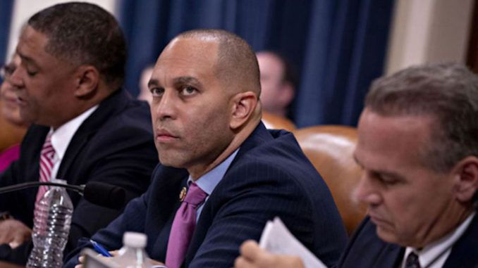 Democrat impeachment manager Hakeem Jeffries compares Trump to 9/11 terrorists and Nazi Germany