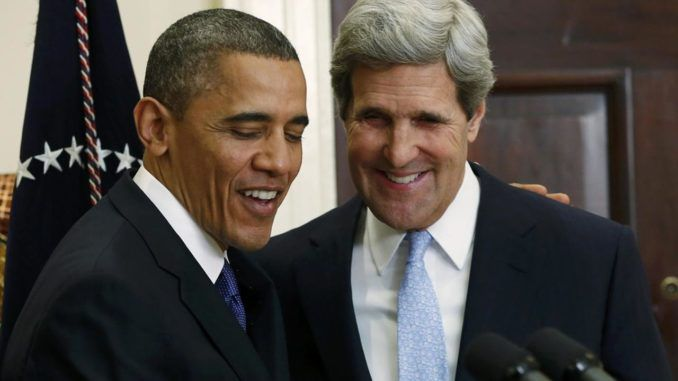 John Kerry claims there was not a whiff of a scandal during the Obama administration's 8 year reign