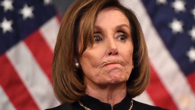 "House Speaker Nancy Pelosi (D-CA) has declared that President Donald Trump will be removed from the White House by Democrats this year ""one way or another."""