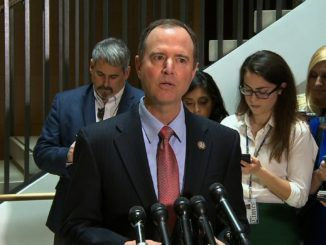 Adam Schiff tells reporters he doesn't know who the whistleblower is