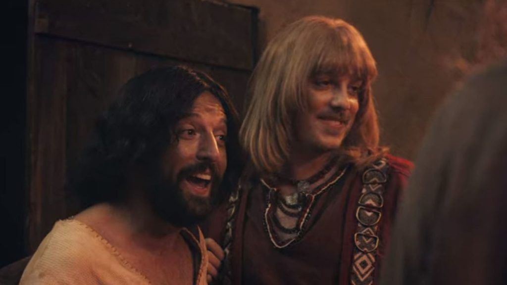 Jesus takes Orlando to meet his family in the comedy. Pic: Netflix