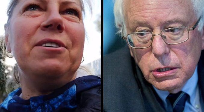 """A Lithuanian immigrant who fled communism in her native land has warned Bernie Sanders supporters of the dangers of socialism, telling them they should """"should go to a socialist country"""" to understand what it is really like before trying to change America."""