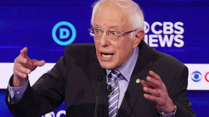 Democrat presidential frontrunner Bernie Sanders say he wants to help African-American and Latino minorities start businesses to sell drugs.