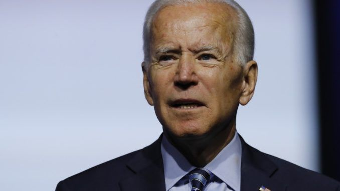"Democrat presidential candidate Joe Biden says it is ""absolutely bizarre"" to suggest a limit on immigration to the U.S."