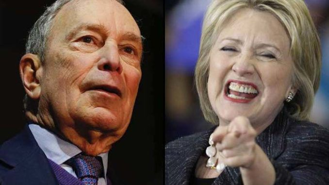 Democrat presidential candidate Michael Bloomberg wants Hillary Clinton as his running mate and is laying the groundwork to make it legally possible, sources close to his campaign told the Drudge Report.