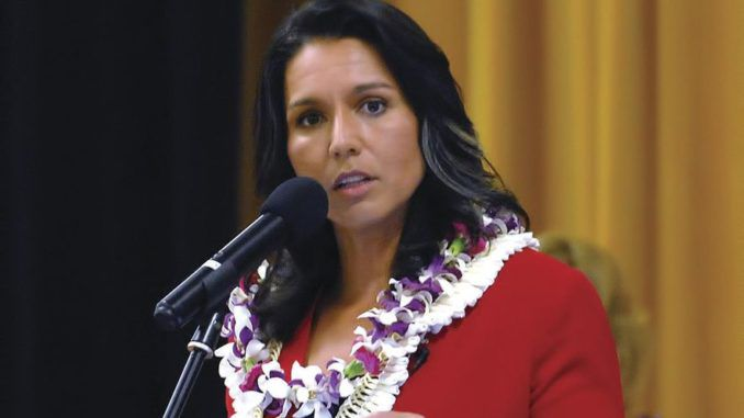 Tulsi Gabbard accuses the DNC of rigging the primaries for billionaire candidates AGAIN
